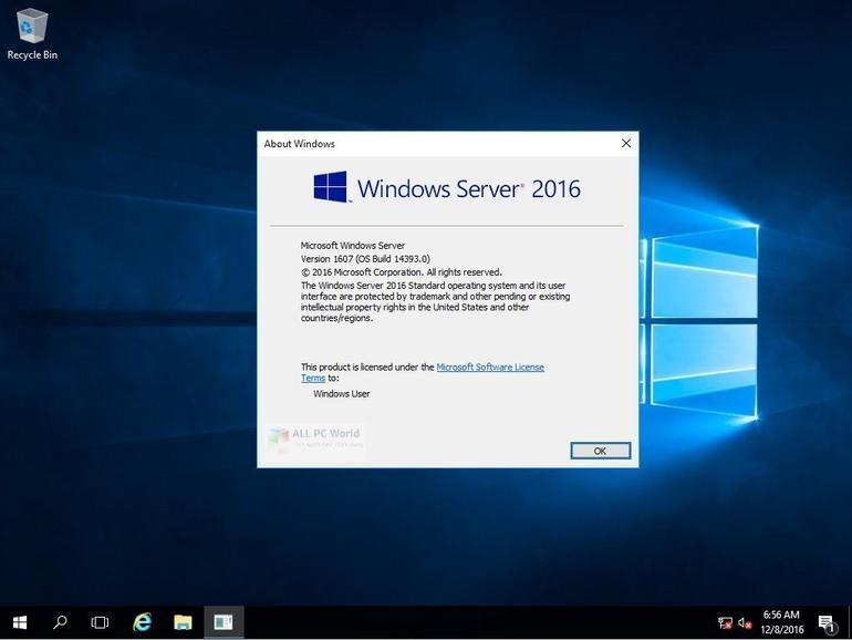Windows Server 2016 X64 Standard ESD en-US MARCH 2020 Download
