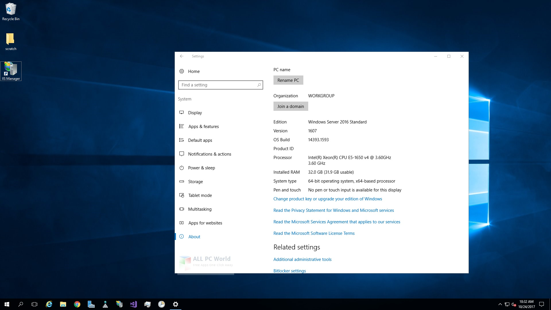 Windows Server 2016 X64 Standard ESD en-US MARCH 2020 Installer