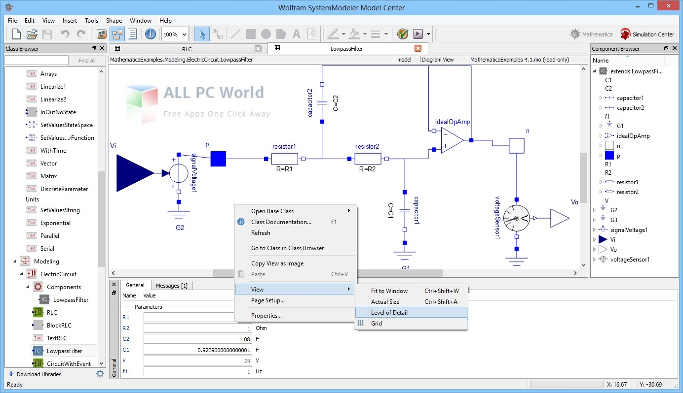 Wolfram SystemModeler 12 Free Download