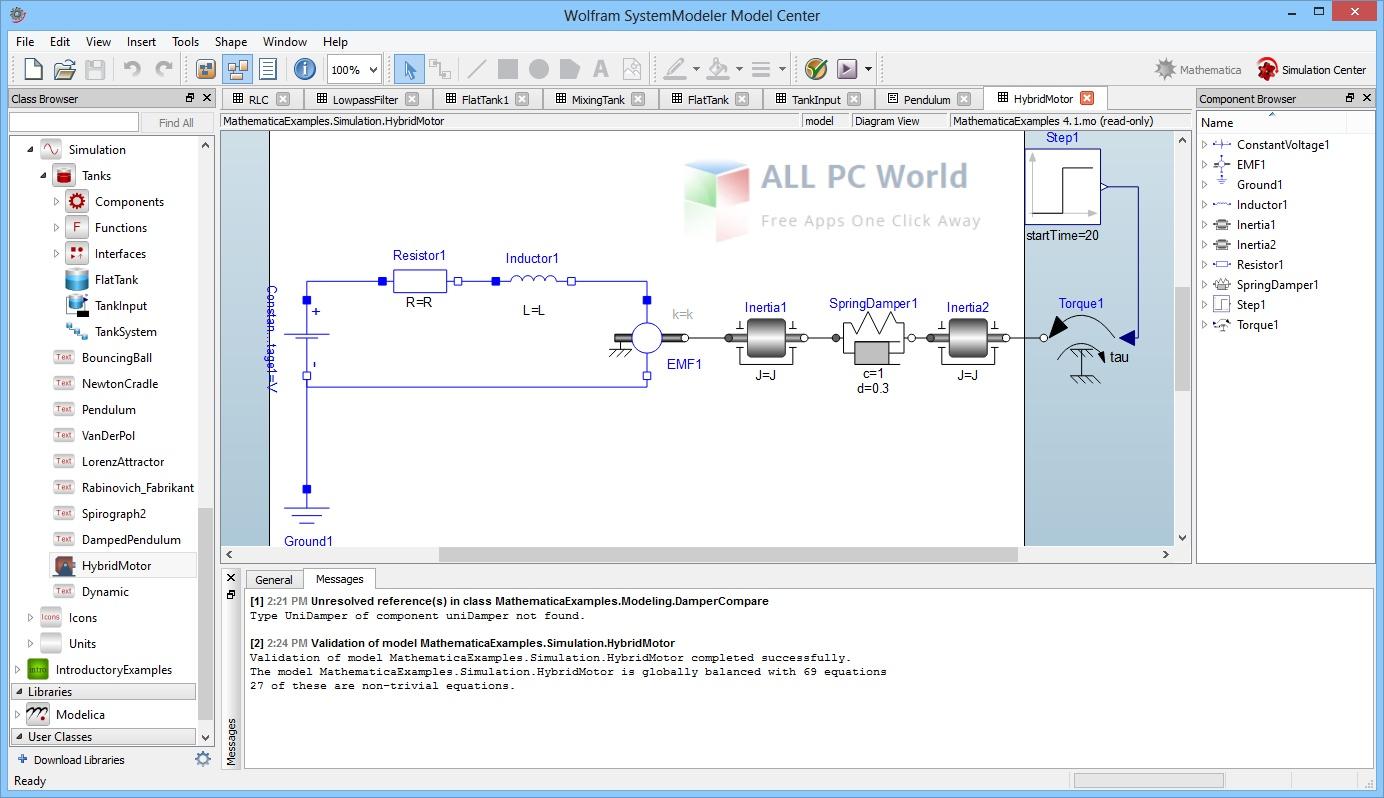 Wolfram SystemModeler 12.2 Free Download