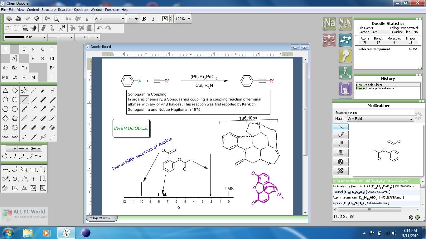 iChemLabs ChemDoodle 8.0 Download