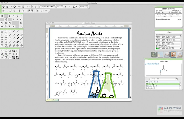 iChemLabs ChemDoodle 8.0 Free Download