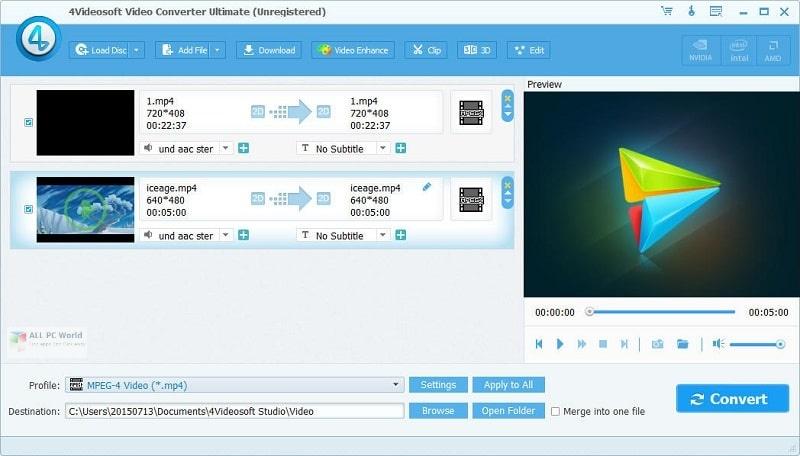 4Videosoft Video Converter Ultimate 7.0 Full Version Download
