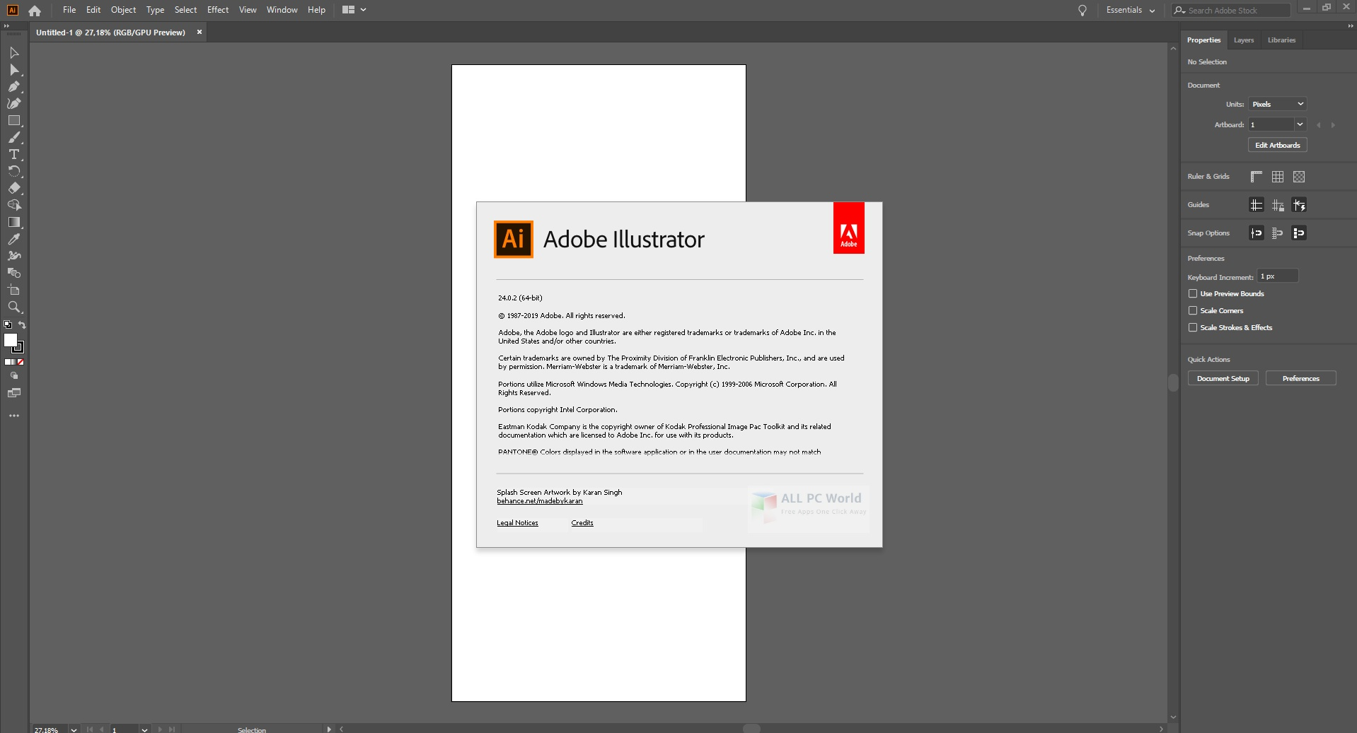 Adobe Illustrator CC 2020 v24.1.2