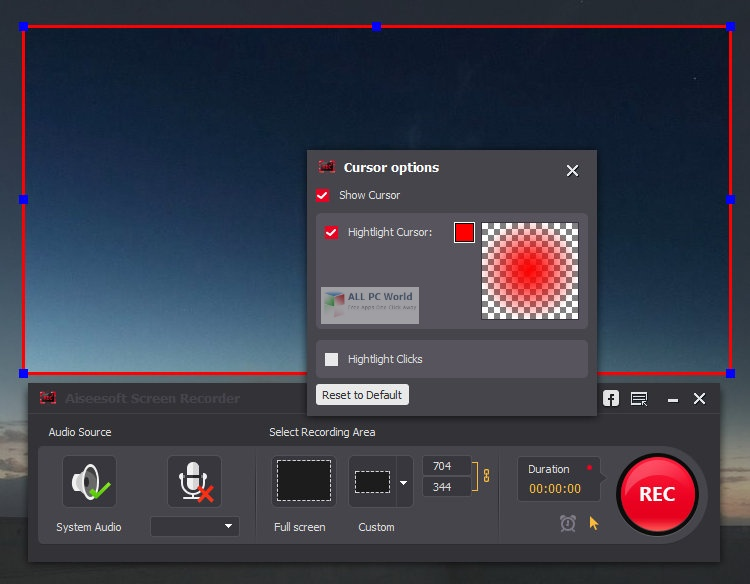 Aiseesoft Screen Recorder 2.2 Direct Download Link