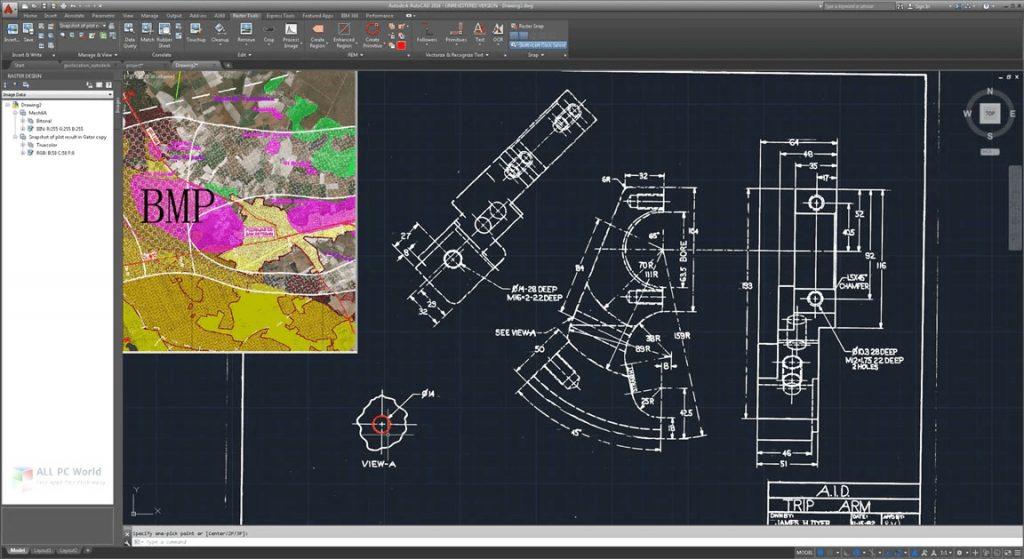 AutoCAD Raster Design 2021
