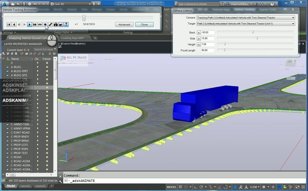 Autodesk Vehicle Tracking 2021 for Windows 10