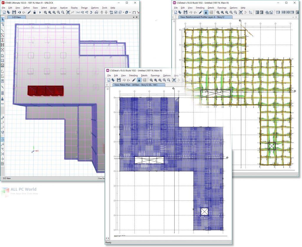 CSiDetail 18.1.1 Build 1050