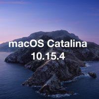 Download macOS Catalina 10.15.4 Build 19E266