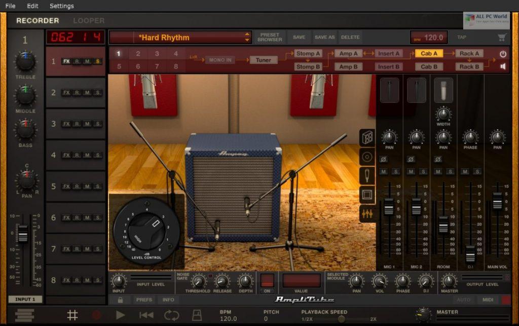 IK Multimedia AmpliTube 4.9 for Windows
