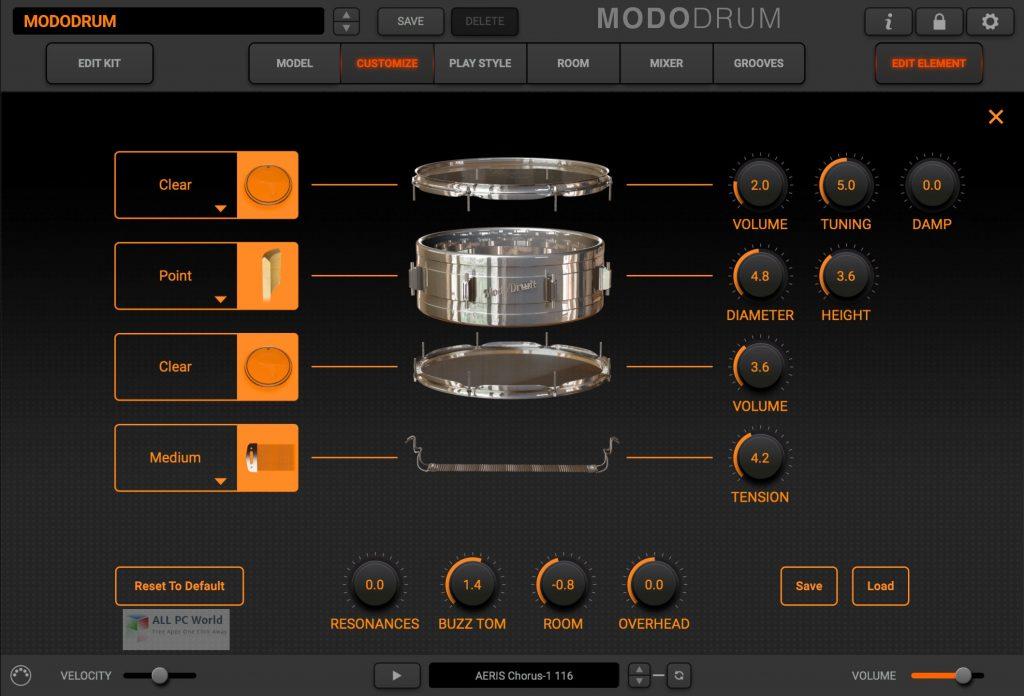 IK Multimedia MODO DRUM v1.1 Free Download