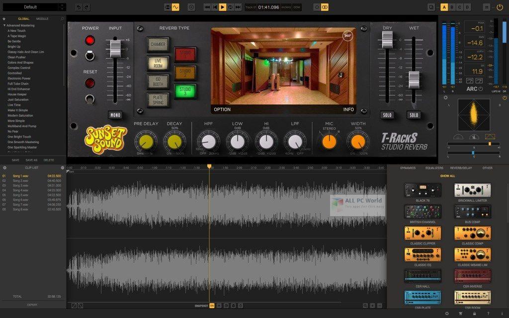 IK Multimedia T-RackS 5 Complete 5.3.2 Free Download