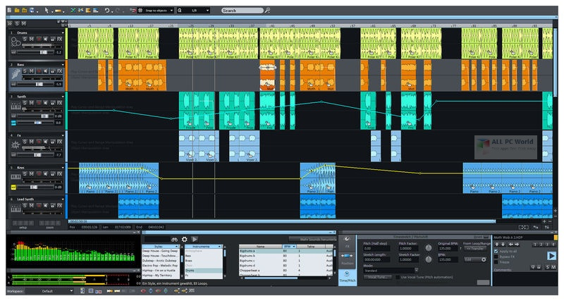 MAGIX Samplitude Pro X5 Suite v16.0 Download