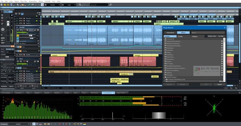 MAGIX Samplitude Pro X5 Suite v16.0
