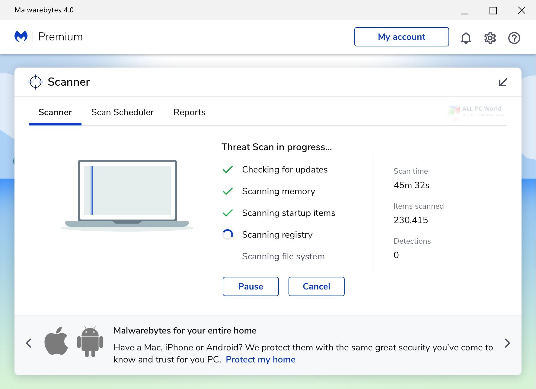 Malwarebytes Antimalware Premium 4.0 Free Download