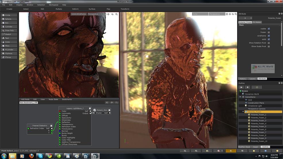 NewTek LightWave 3D 2019.1.5