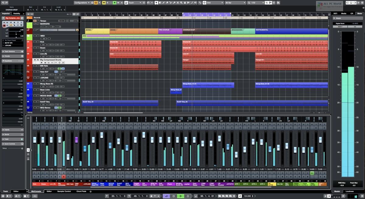 Steinberg Cubase Pro 10.5 Free Download