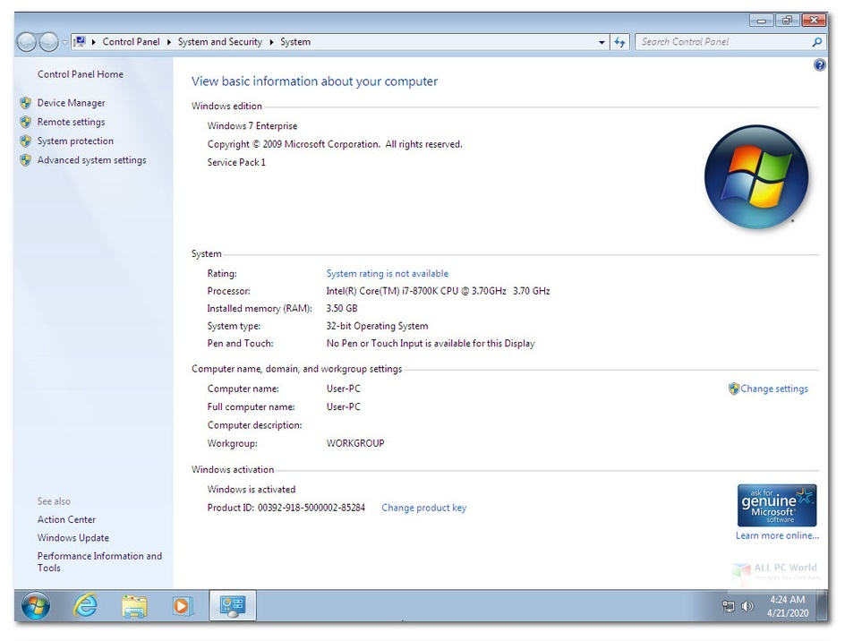 Windows 7 SP1 AIO OEM ESD APRIL 2020 Download