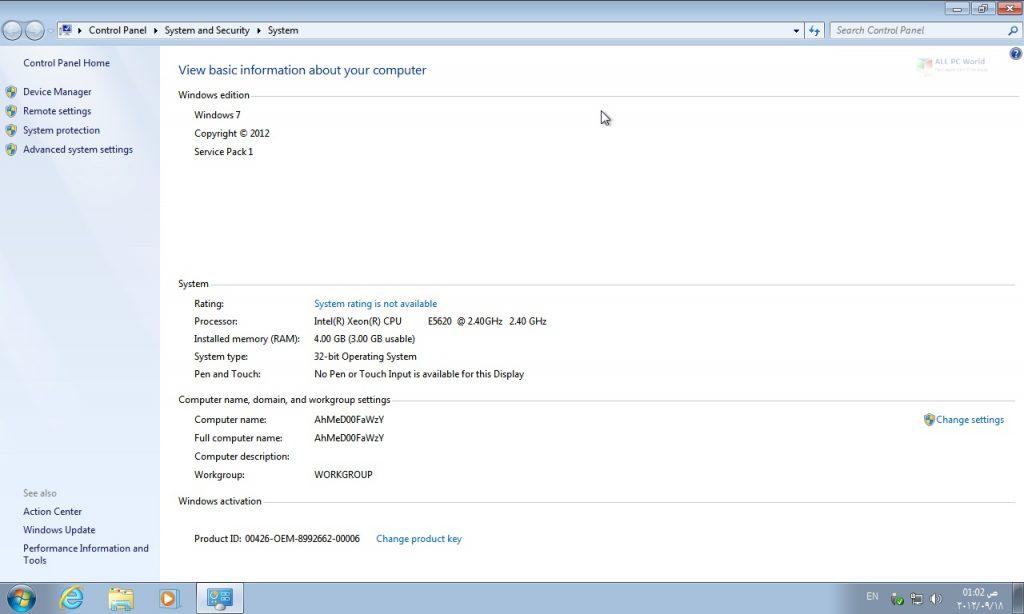 Windows 7 Ultimate SP1 Lite Edition 2019 Download