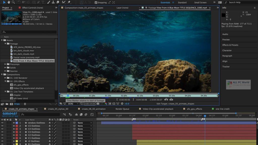 Adobe After Effects CC 2020 v17.1 Download