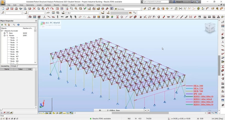 Autodesk Robot Structural Analysis Professional 2021 Free Download