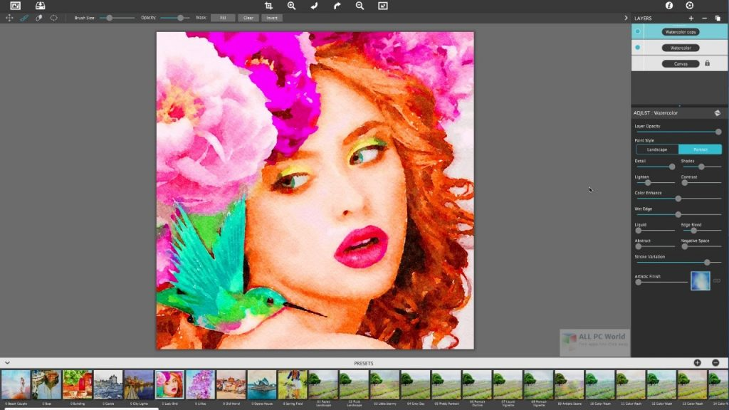 JixiPix Watercolor Studio 1.4.5