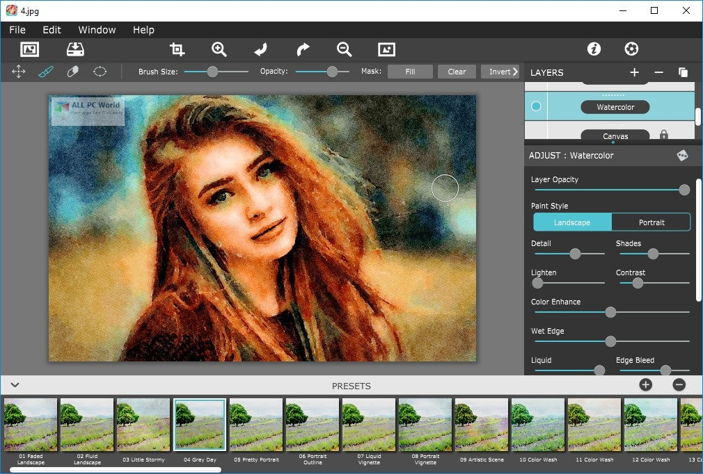 JixiPix Watercolor Studio 1.4.5 Download