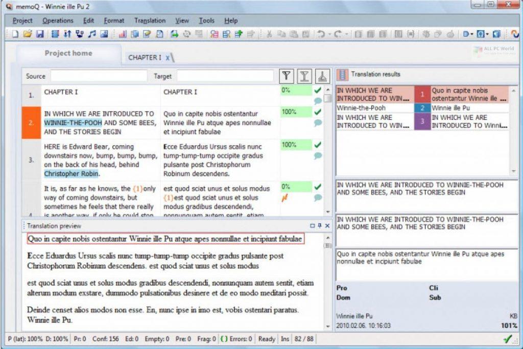 Kilgray memoQ Translator Pro 9.3.7 Free Download