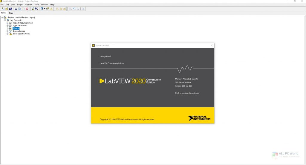 NI LabVIEW 2020 v20.0 Download
