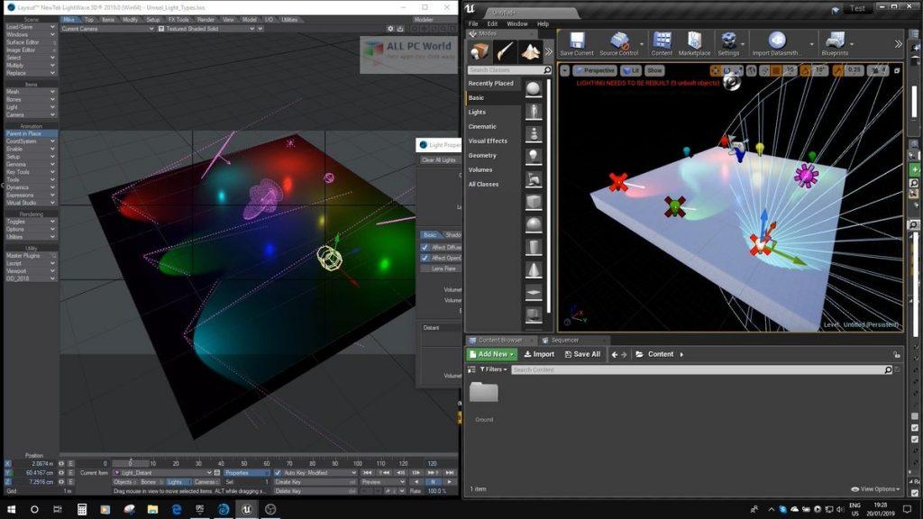 NewTek LightWave 3D 2020 Free Download