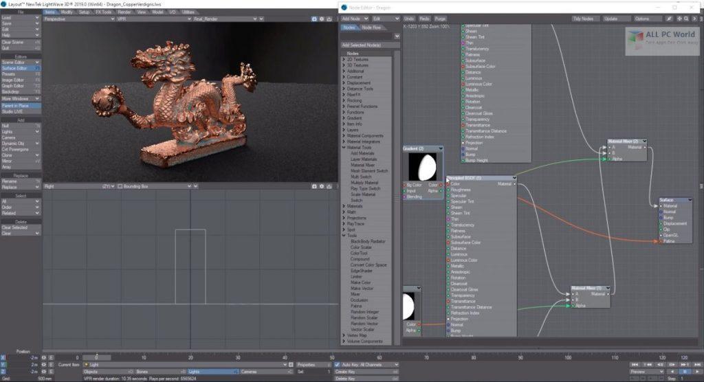 NewTek LightWave 3D 2020 for Windows 10