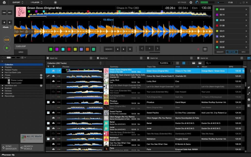 Pioneer DJ Rekordbox 2020 v6.0 for Windows 10