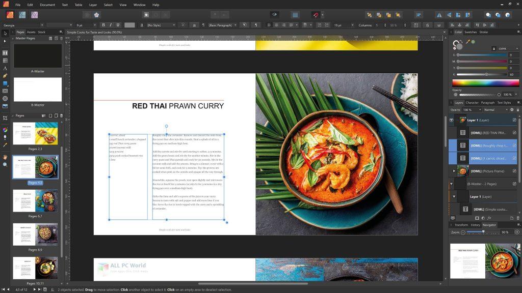 Serif Affinity Publisher 1.8.4