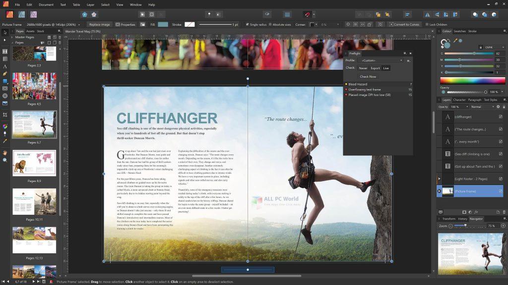 Serif Affinity Publisher 1.8.4 Download