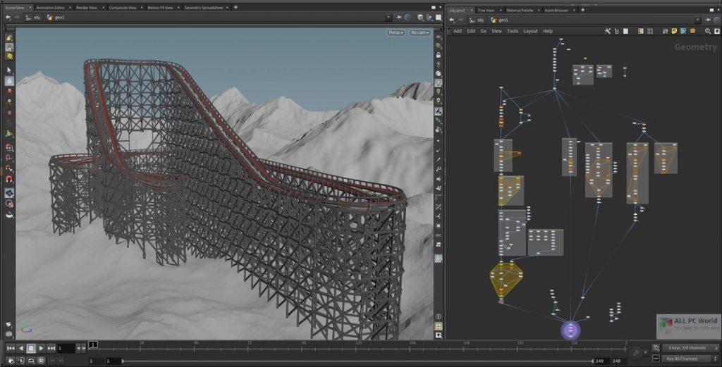 SideFX Houdini FX 18.0 Download