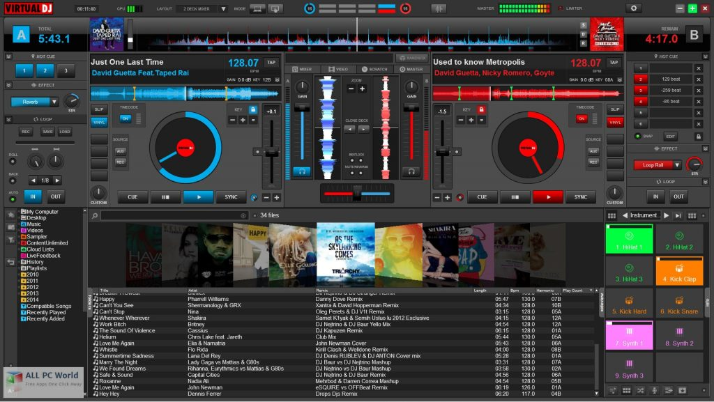 Virtual DJ Studio 2020 v8.1 Download
