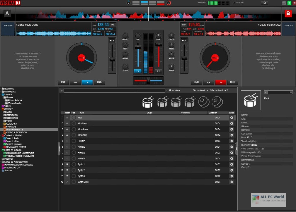 Virtual DJ Studio 2020 v8.1 Free Download