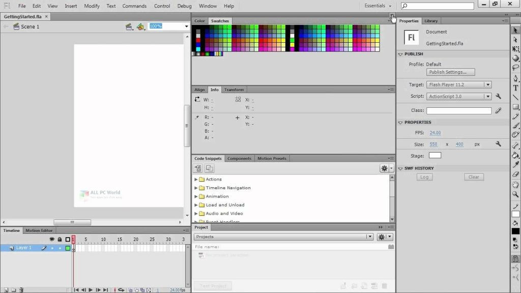 Adobe Flash CS6 Installer