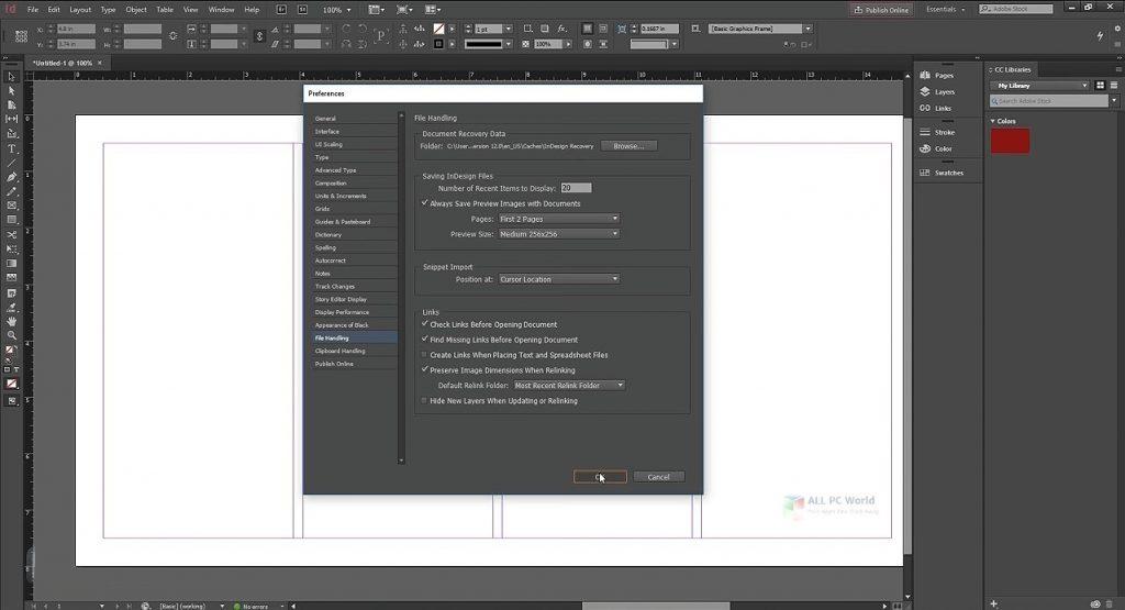 Adobe InDesign CC 2020 v15.1