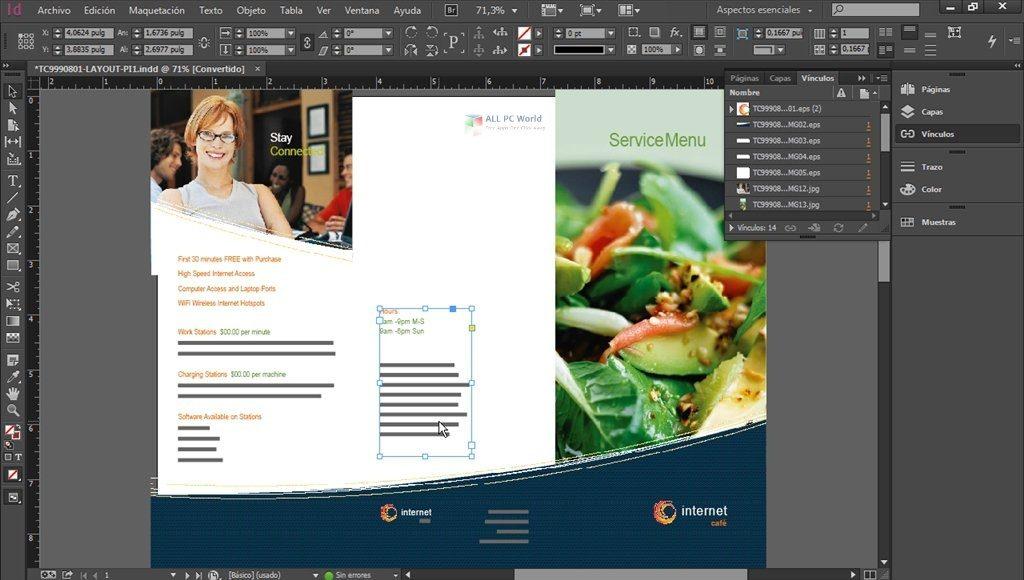Adobe InDesign CC 2020 v15.1 Free Download