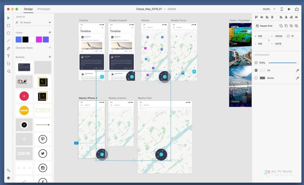 Adobe XD CC 2020 Free Download - ALL PC World
