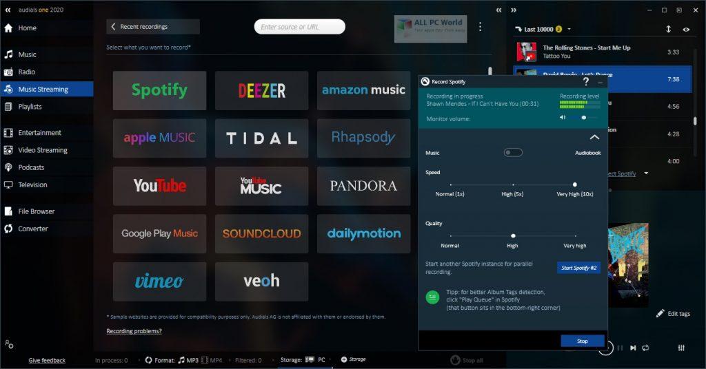 Audials One Platinum 2020 Download