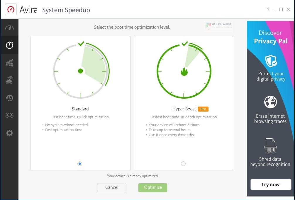 Avira System SpeedUp Pro 2020 Free Download