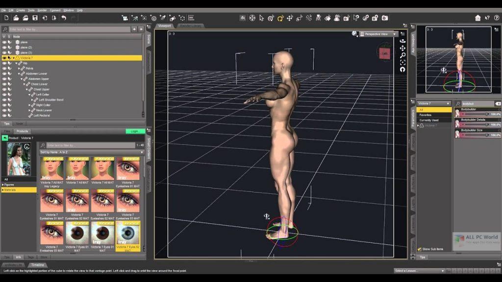 DAZ Studio Pro 2020 v4.12 Free Download