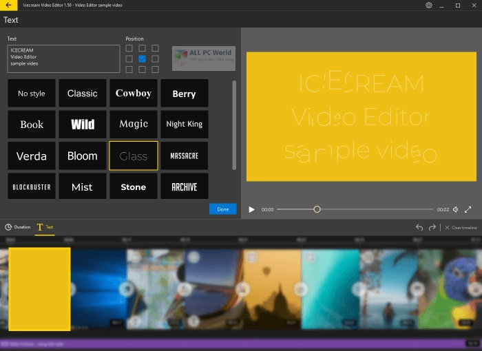 Icecream Video Editor 2.1
