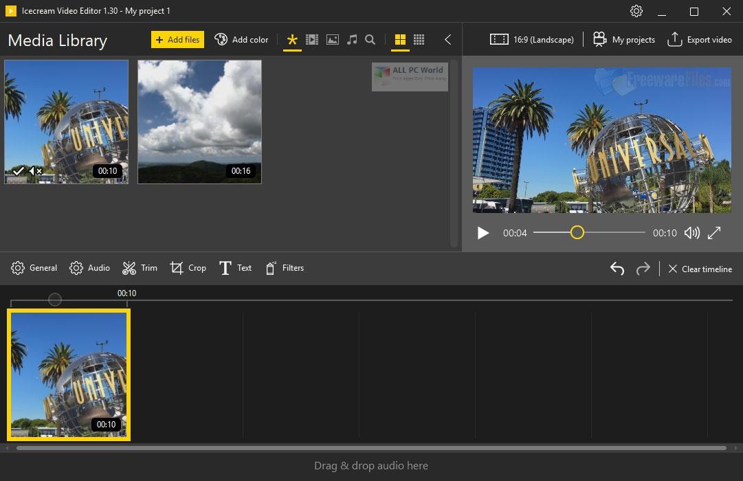 Icecream Video Editor 2.0