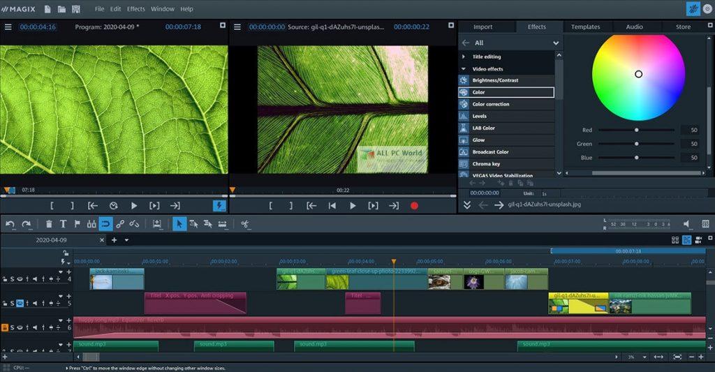 MAGIX Video Pro X12 v18.0