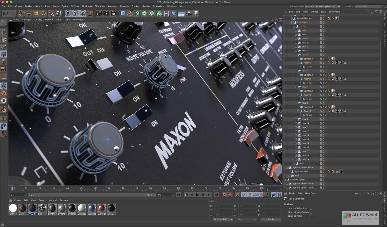 Maxon CINEMA 4D S22 Free Download
