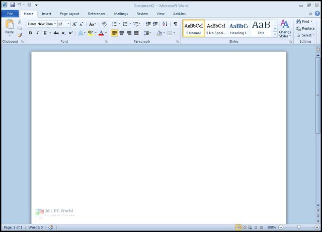 Microsoft Office 2010 Pro Plus Updated June 2020