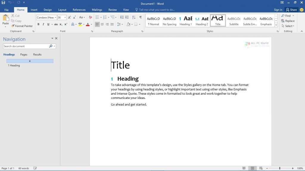 Microsoft Office 2016 Pro Plus June 2020
